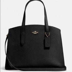 NWT Coach Charlie Carryall Bag (Black) 350$ retail